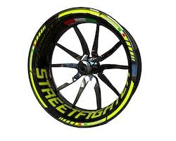 Ducati Streetfighter Wheel Stickers kit - Standard Design