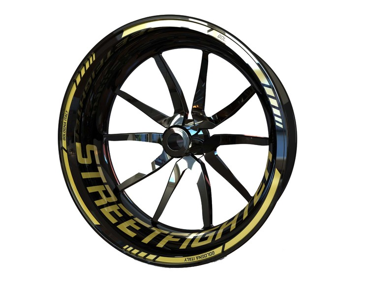 Ducati Streetfighter Wheel Stickers Standard (Front & Rear - Both Sides Included)