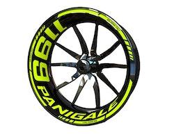 Ducati 1199 Panigale Wheel Stickers kit - Standard Design