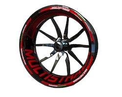 Ducati Multistrada Wheel Stickers kit - Plus Design