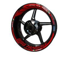 Ducati 899 Panigale Wheel Stickers kit - Standard Design