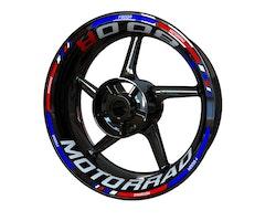 BMW F800R Motorrad Wheel Stickers kit - Standard Design