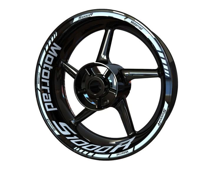 BMW S1000R Motorrad Wheel Stickers kit - Standard Design