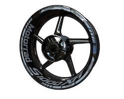 BMW S1000XR Motorrad Wheel Stickers kit - Standard Design