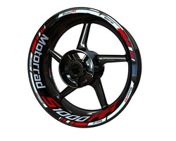 BMW S1000RR Motorrad Wheel Stickers kit - Standard Design