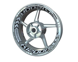 BMW K1200R Wheel Stickers kit - Plus Design
