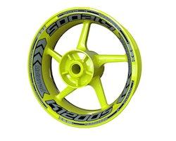 BMW K1200S Wheel Stickers kit - Plus Design