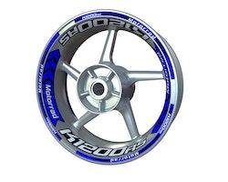 BMW K1200RS Wheel Stickers kit - Plus Design