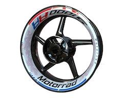 BMW S1000RR Wheel Stickers kit - Premium Design
