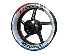 BMW S1000R Wheel Graphics Premium (Front & Rear - Both Sides Included)