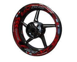BMW F900XR Wheel Stickers kit - Plus Design