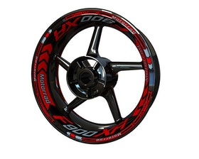 BMW F900XR Wheel Stickers Plus (Front & Rear - Both Sides Included)