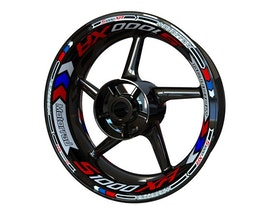 BMW S1000XR Wheel Stickers Plus (Front & Rear - Both Sides Included)