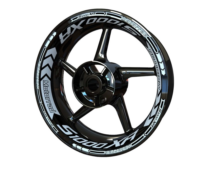 BMW S1000XR Wheel Stickers kit - Plus Design