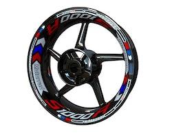 BMW S1000R Wheel Stickers kit - Plus Design