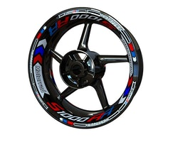 BMW S1000RR Wheel Stickers kit - Plus Design
