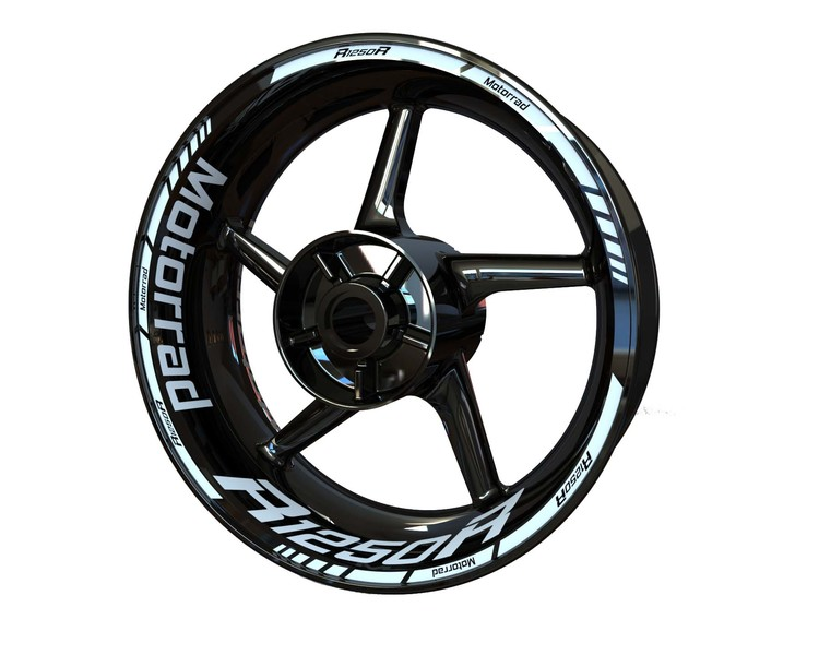 BMW R1250R Wheel Stickers Standard (Front & Rear - Both Sides Included)