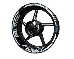 BMW K1600 Motorrad Wheel Stickers kit - Standard Design