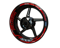 BMW R1200R Motorrad Wheel Stickers kit - Standard Design
