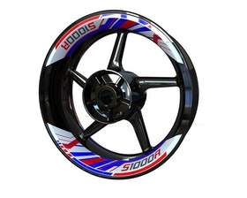BMW S1000R Rim Stickers 2-piece (Front & Rear - Both Sides Included)