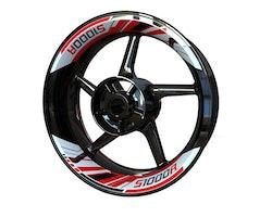BMW S1000R Wheel Stickers kit - 2-piece Design