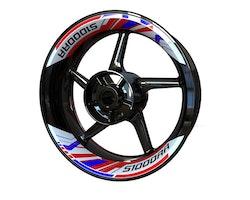 BMW S1000RR Wheel Stickers kit - 2-piece Design