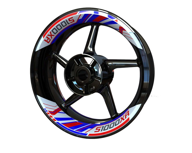 BMW S1000XR Rim Stickers 2-piece (Front & Rear - Both Sides Included)