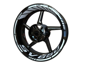 Suzuki SV650 Wheel Stickers Standard (Front & Rear - Both Sides Included)