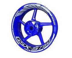 Suzuki GSX-S 750 Wheel Stickers kit - Standard Design