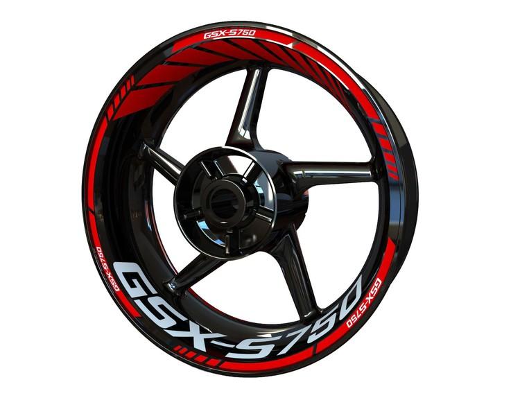 Suzuki GSX-S 750 Wheel Stickers Standard