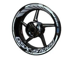Suzuki GSX-S 1000 Wheel Stickers kit - Standard Design