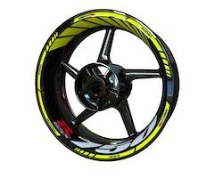 Suzuki GSX-R 750 Wheel Stickers kit - Standard Design