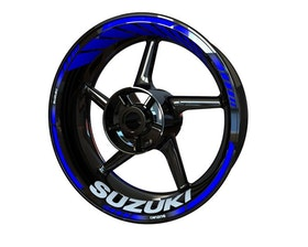 Suzuki Wheel Stickers Standard (Front & Rear - Both Sides Included)
