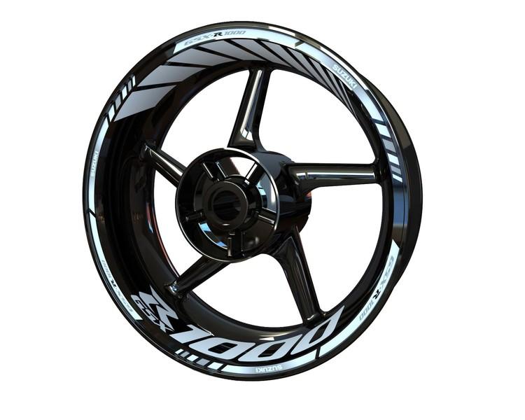 Suzuki GSX-R 1000 Wheel Stickers Standard (Front & Rear - Both Sides Included)