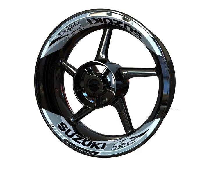 Suzuki GSX-R Rim Stickers 2-piece (Front & Rear - Both Sides Included)