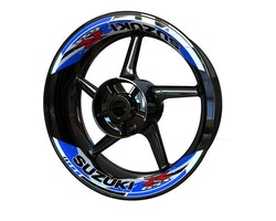 Suzuki GSX-R Wheel Stickers kit - 2-Piece Design