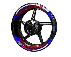 Suzuki GSX-R 1000 Wheel Stickers kit - 2-Piece Design