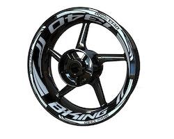 Suzuki B-King 1340 Wheel Stickers kit - Plus Design