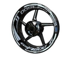 Suzuki GSR600 Wheel Stickers kit - Plus Design