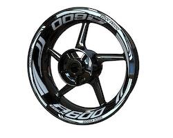 Suzuki GSX-R 600 Wheel Stickers kit - Plus Design