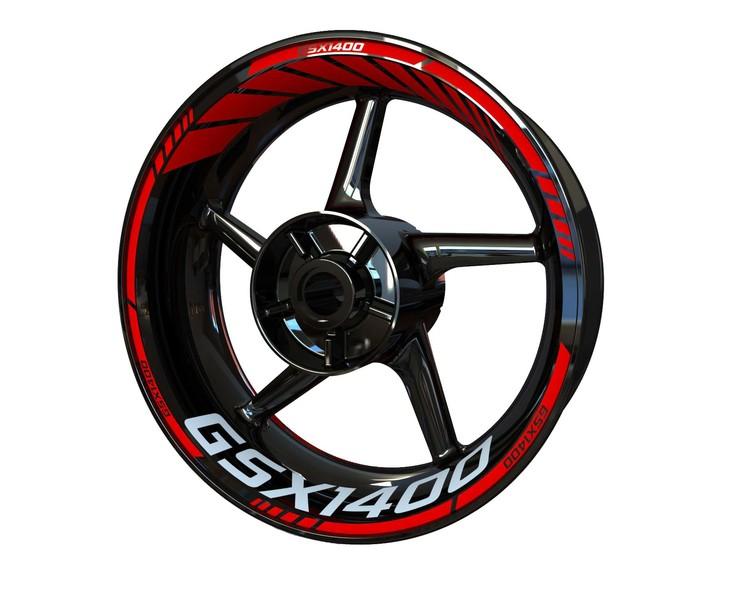 Suzuki GSX 1400 Wheel Stickers Standard (Front & Rear - Both Sides Included)
