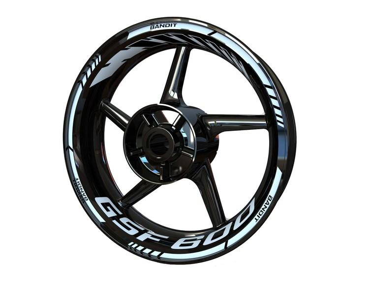Suzuki GSF600 Bandit Wheel Stickers kit - Standard Design
