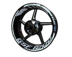 Suzuki GSF 1200 Bandit Wheel Stickers kit - Standard Design