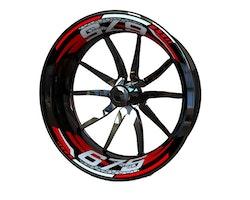 MV AGUSTA 675 Wheel Stickers kit - 2-Piece Design