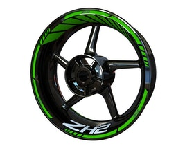 ZH2 Wheel Stickers Standard (Front & Rear - Both Sides Included)