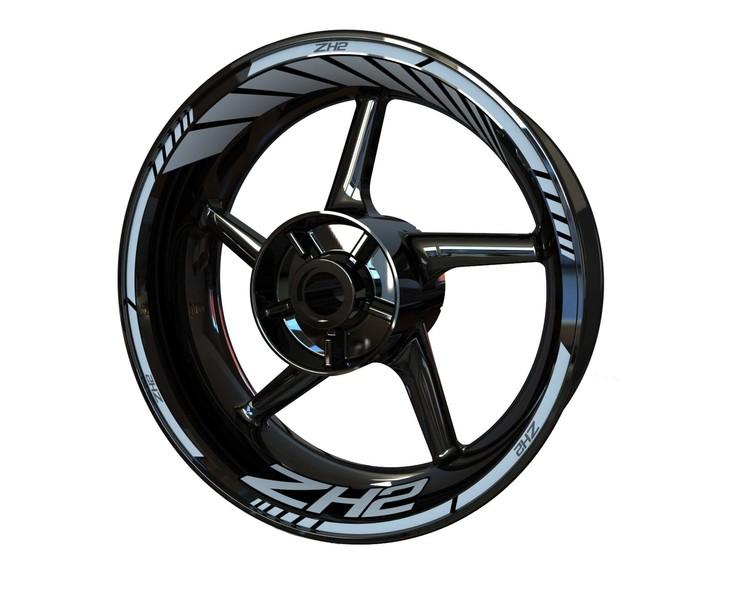 Kawasaki ZH2 Wheel Stickers kit - Standard Design