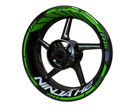 Ninja H2 Wheel Stickers Standard (Front & Rear - Both Sides Included)