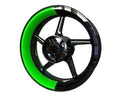 Dualistic Wheel Stickers kit - Premium Design