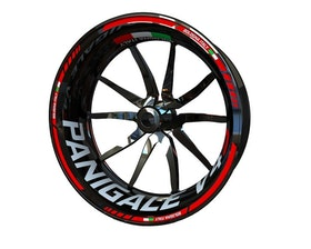 Ducati V4S Panigale Wheel Stickers Standard (Front & Rear - Both Sides Included)