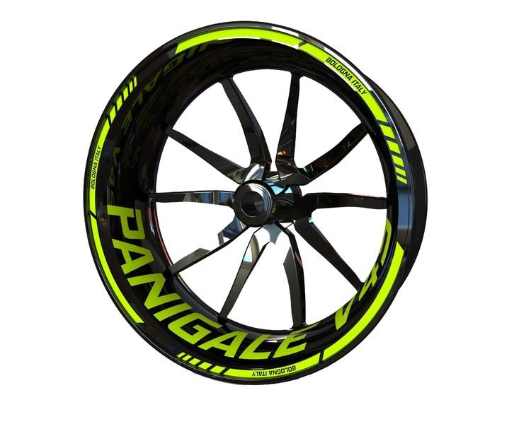 Ducati V4S Panigale Wheel Stickers kit - Standard Design